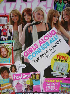 TVHits magazine - June 2007 - Girls Aloud cover
