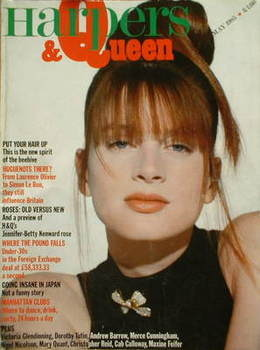 <!--1985-05-->British Harpers & Queen magazine - May 1985