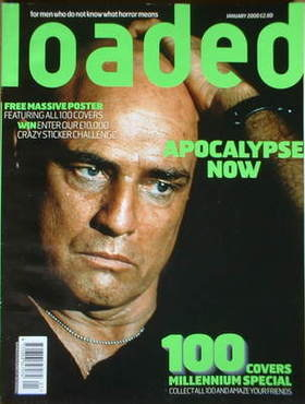 <!--2000-01-->Loaded magazine - Marlon Brando cover (January 2000)