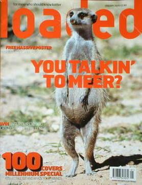 <!--2000-01-->Loaded magazine - Meerkat cover (January 2000)