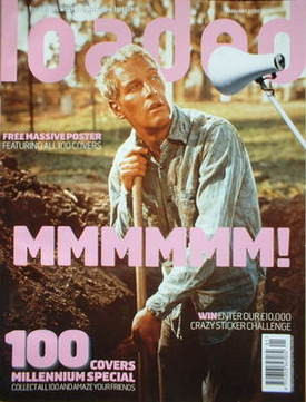 <!--2000-01-->Loaded magazine - Paul Newman cover (January 2000)