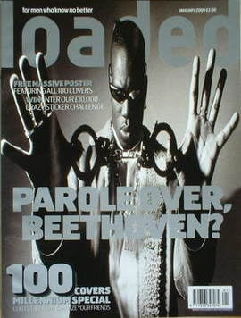 <!--2000-01-->Loaded magazine - Mark Morrison cover (January 2000)