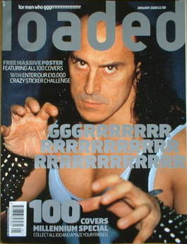 <!--2000-01-->Loaded magazine - Wolf cover (January 2000)