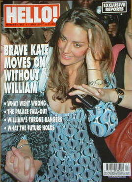 <!--2007-05-01-->Hello! magazine - Kate Middleton cover (1 May 2007 - Issue