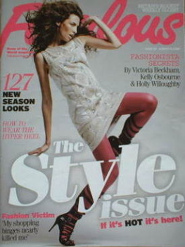 Fabulous magazine - The Style Issue cover (17 August 2008)