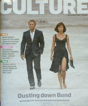 <!--2008-10-12-->Culture magazine - Daniel Craig cover (12 October 2008)