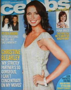 Celebs magazine - Christine Bleakley cover (14 September 2008)