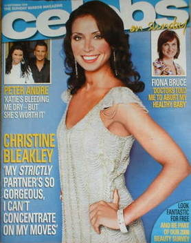 <!--2008-09-14-->Celebs magazine - Christine Bleakley cover (14 September 2