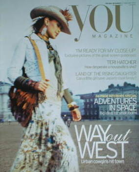 <!--2005-02-27-->You magazine - Way Out West cover (27 February 2005)