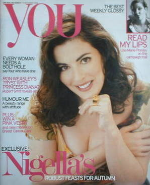 <!--2006-09-10-->You magazine - Nigella Lawson cover (10 September 2006)