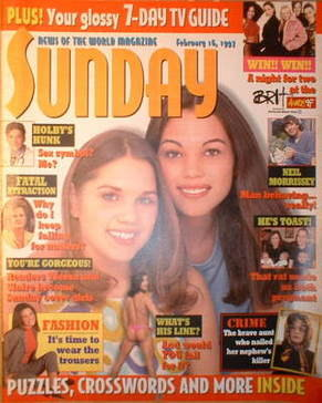 <!--1997-02-16-->Sunday magazine - 16 February 1997