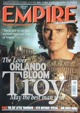 <!--2004-06-->Empire magazine - Orlando Bloom cover (June 2004 - Issue 180)