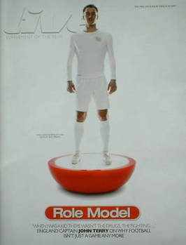 Live magazine - John Terry cover (29 March 2009)