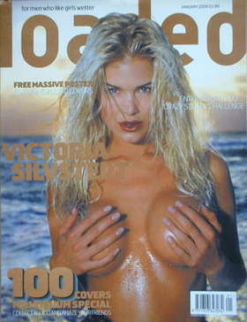 <!--2000-01-->Loaded magazine - Victoria Silvstedt cover (January 2000)