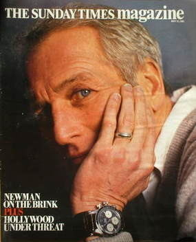 <!--1984-05-13-->The Sunday Times magazine - Paul Newman cover (13 May 1984
