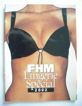 FHM supplement - Lingerie Special 2002