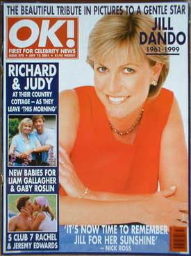 <!--2001-07-13-->OK! magazine - Jill Dando cover (13 July 2001 - Issue 272)