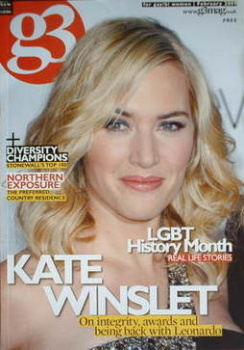 G3 magazine - Kate Winslet cover (February 2009)