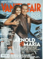 <!--2005-01-->Vanity Fair magazine - Arnold Schwarzenegger and Maria Shriver cover (January 2005)