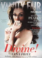 Vanity Fair Jewellery magazine supplement (August 2009 - Anna Friel cover)
