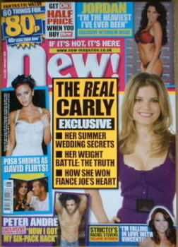 New magazine - 1 December 2008 - Carly Zucker cover