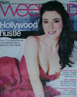 Weekend magazine - Jaime Murray cover (28 June 2008)