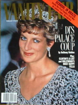 Vanity Fair magazine - Princess Diana cover (February 1993)