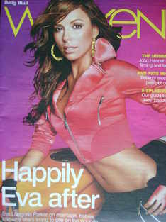 Weekend magazine - Eva Longoria Parker cover (2 August 2008)