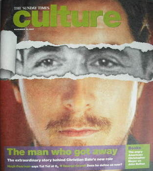 Culture magazine - Christian Bale cover (18 November 2007)