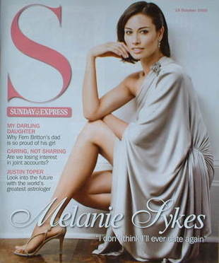 <!--2008-10-19-->Sunday Express magazine - 19 October 2008 - Melanie Sykes