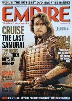 <!--2004-02-->Empire magazine - Tom Cruise cover (February 2004 - Issue 176