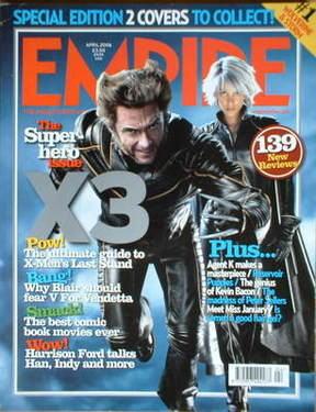 <!--2006-04-->Empire magazine - X-Men cover (April 2006 - Issue 202)
