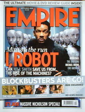 <!--2004-09-->Empire magazine - Will Smith cover (September 2004 - Issue 18