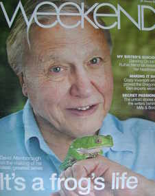 <!--2008-01-26-->Weekend magazine - David Attenborough cover (26 January 2008)