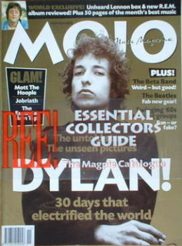 MOJO magazine - Bob Dylan cover (November 1998 - Issue 60)