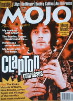<!--1998-04-->MOJO magazine - Eric Clapton cover (April 1998 - Issue 53)