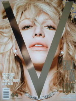 V magazine - Winter 2006/2007 - Courtney Love cover