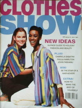 Clothes Show magazine - July 1991