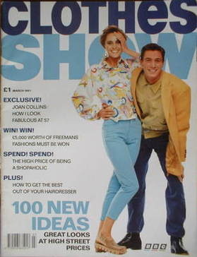 <!--1991-03-->Clothes Show magazine - March 1991