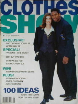 Clothes Show magazine - September 1991
