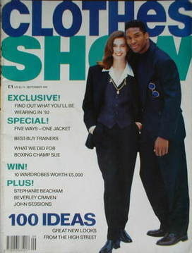 <!--1991-09-->Clothes Show magazine - September 1991