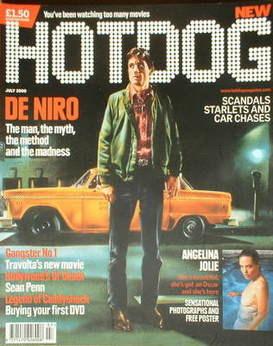 Hotdog magazine - Robert de Niro cover (July 2000 - Issue 1)