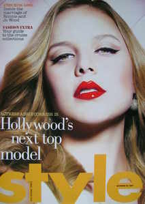 <!--2007-10-28-->Style magazine - Abbie Cornish cover (28 October 2007)