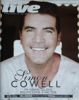 Live magazine - Simon Cowell cover (2 November 2008)