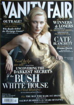 Vanity Fair magazine - Cate Blanchett cover (February 2009)