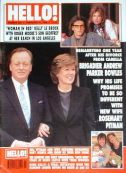 <!--1996-02-17-->Hello! magazine - Andrew Parker Bowles cover (17 February 1996 - Issue 394)