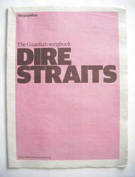 The Guardian newspaper supplement - Dire Straits songbook (20 May 2008)