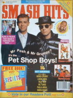 <!--1990-09-19-->Smash Hits magazine - Pet Shop Boys cover (19 September-2 October 1990)