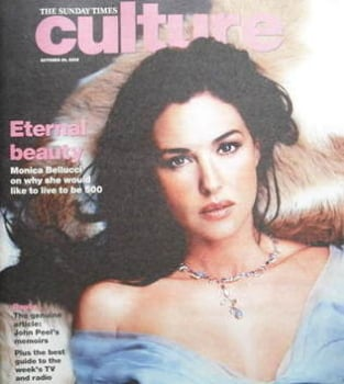 Culture magazine - Monica Bellucci cover (30 October 2005)