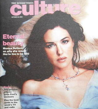 <!--2005-10-30-->Culture magazine - Monica Bellucci cover (30 October 2005)
